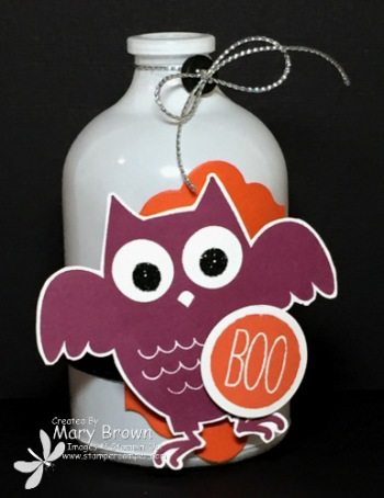 Howl-o-ween Treat Bottle