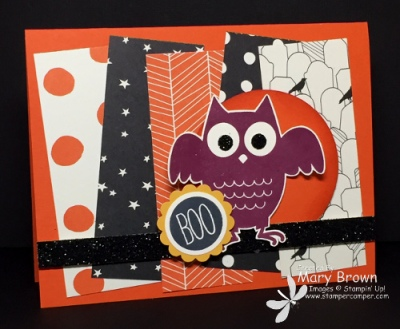 Howl-o-ween Treat Card